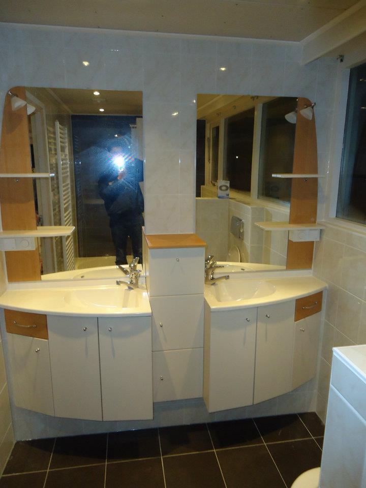 Badkamer installatie te menaam klusbedrijf friesland - M badkamer installatie ...